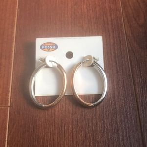 NWT Fossil Hoops